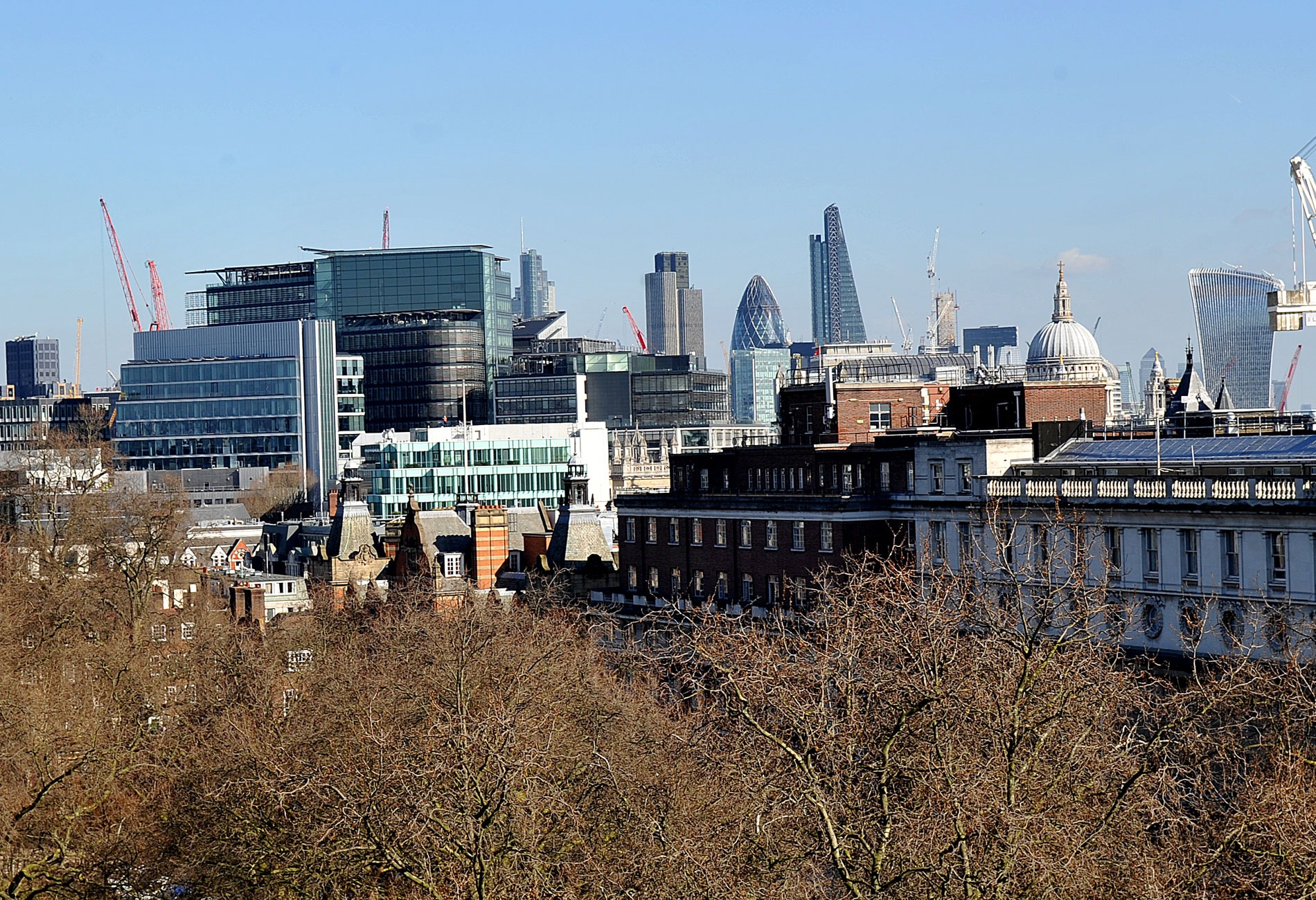 View of London office